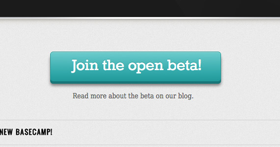Beautifully designed CTA button example