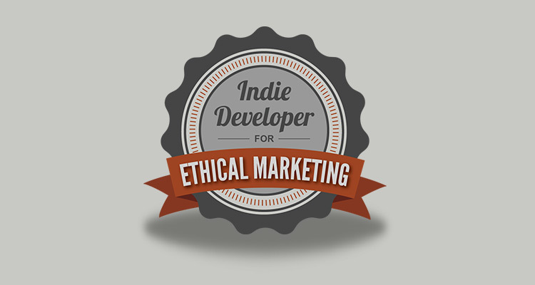 Show Your Support for Ethical Game Marketing [FREE BADGE]