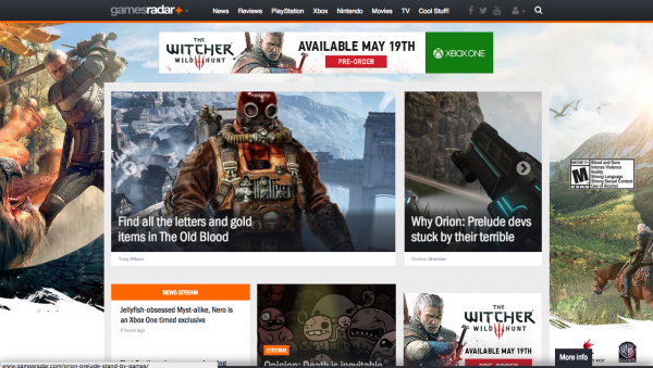 witcher display advertising