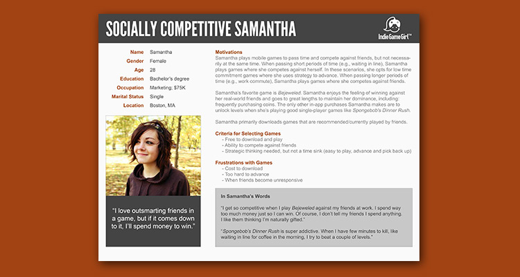 Buyer Persona Template and Filled In Example [FREE PSD TEMPLATE]